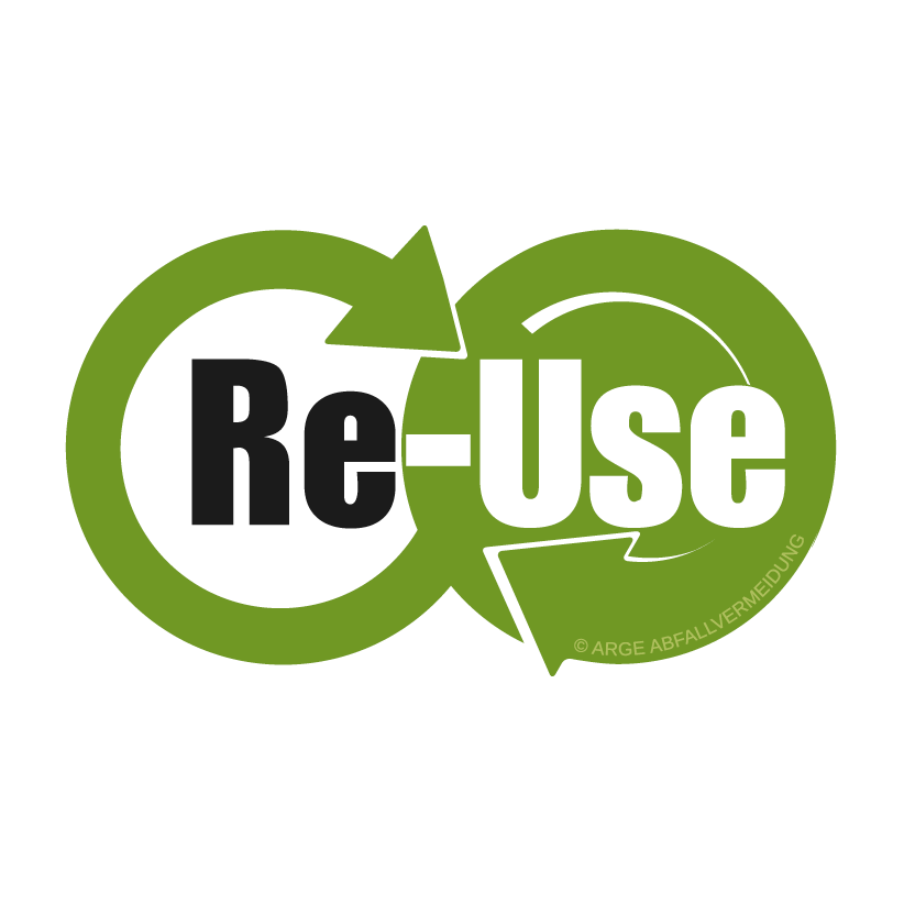 Re-Use Logo © ARGE Abfallvermeidung